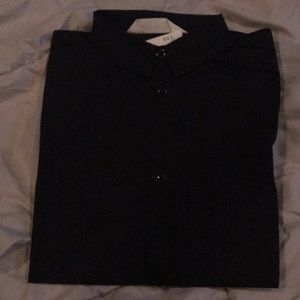 H&M Black Girls Button Down Dress Cotton shirt